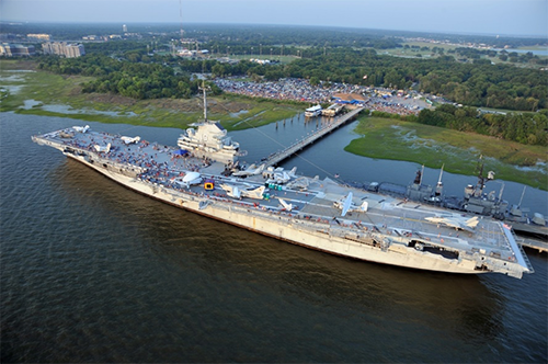 Lowcountry Reception on USS Yorktown