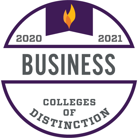 2020-2021 Business Colleges of Distinction Logo
