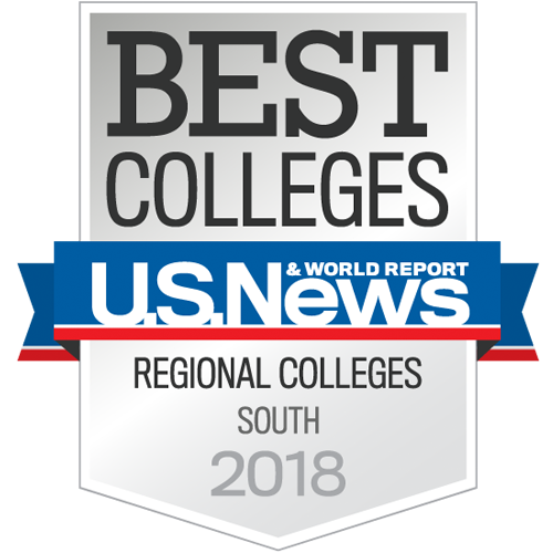 Best Colleges by U.S. News and World Report, Regional Colleges South 2018