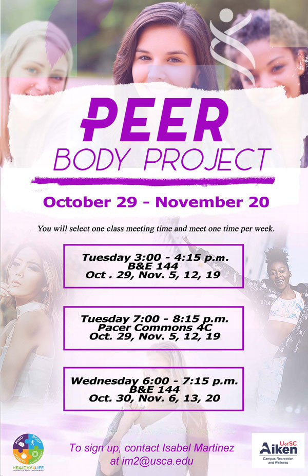 Peer Body Project Oct Nov