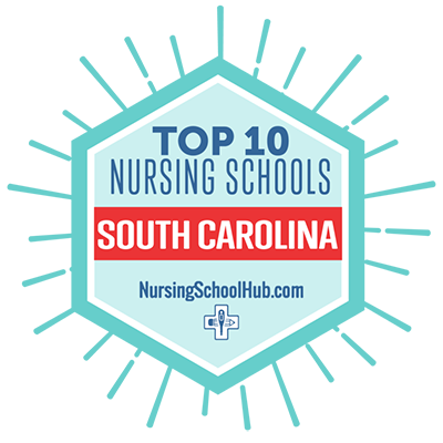 Top 10 Nursing Schools in South Carolina Award logo