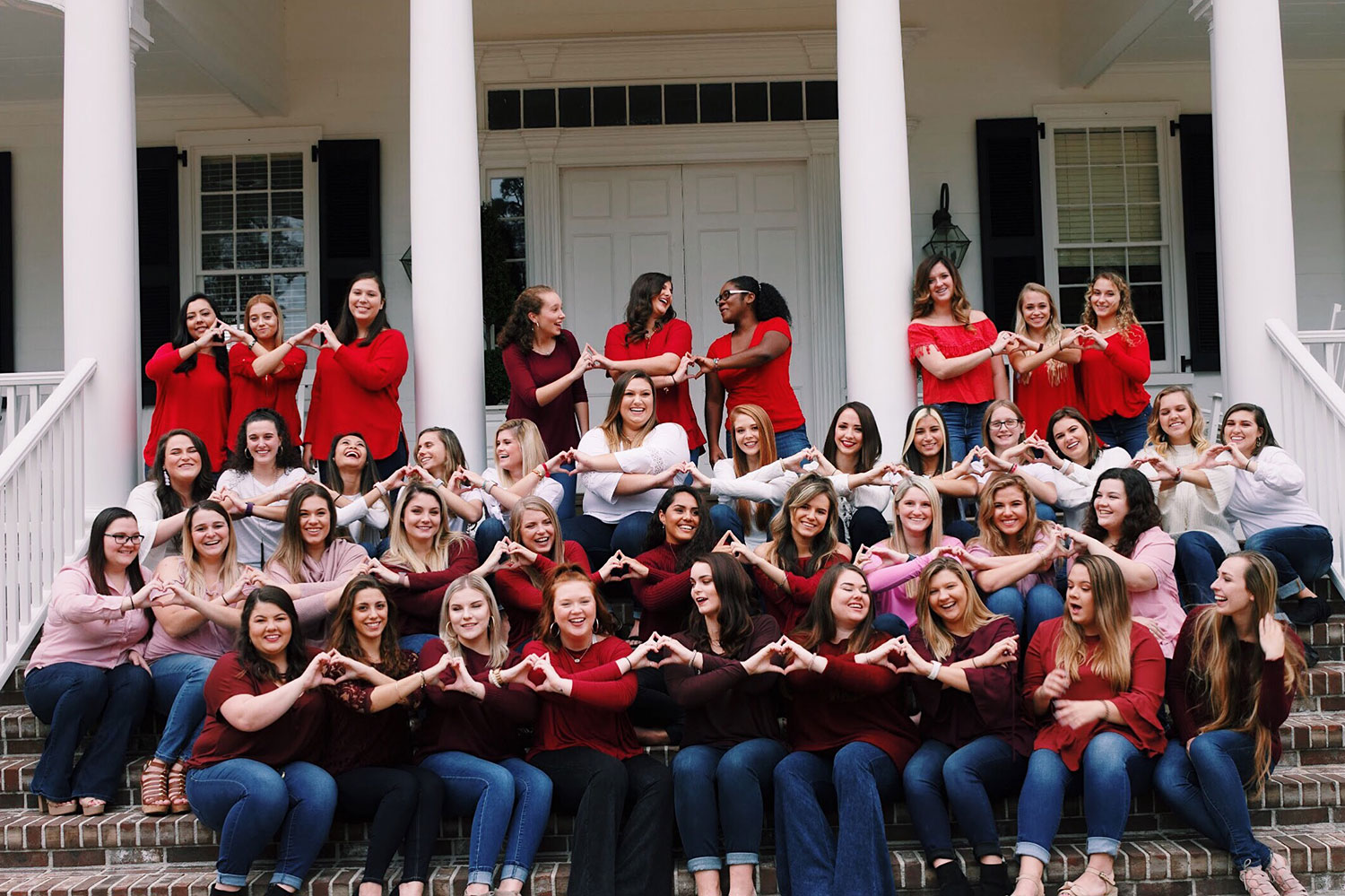 Alpha Omicron Pi Members