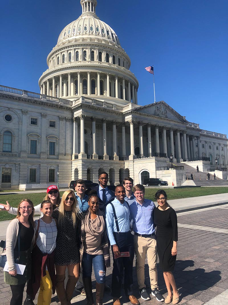 Leadership USC Aiken trip to Washington, D.C.